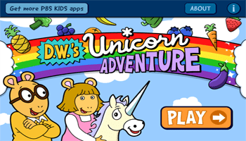 D.W.'s Unicorn Adventure App