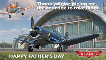 Father's Day Fun with Disney's Planes
