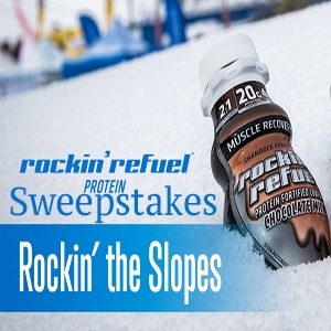Rockin' the Slopes Sweepstakes with Rockin' Refuel | Ends 2.22.17