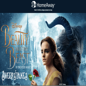 Beauty & Beast Sweepstakes_ends 3:31:17