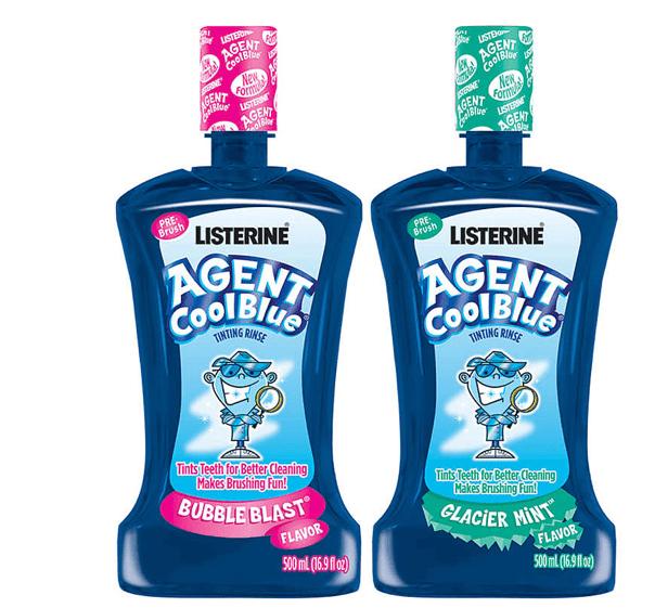 Listerine Agent Cool Blue