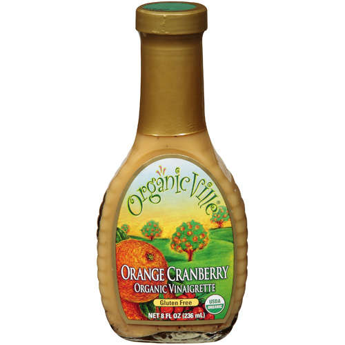 Orange Cranberry Organic Vinaigrette Dressing