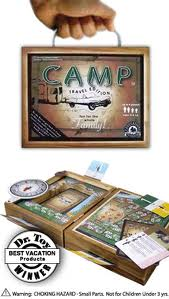 EDUCATION OUTDOORS camp travel games