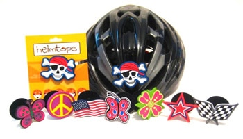 Helmtops: Bike Helmet Decorations