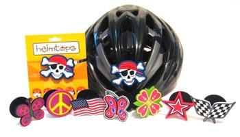 Helmtops: Bike Helmet Decorations