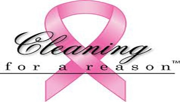 Breast Cancer Awareness: Cleaning For A Reason