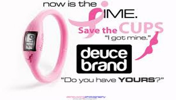 Deuce Brand: Pink Ribbon Watch