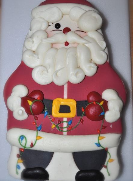 Swiss Colony Santa Cake Review