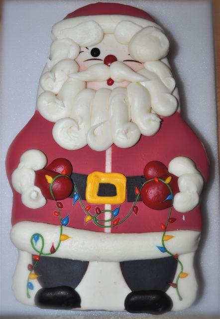 Swiss Colony Santa Cake Review