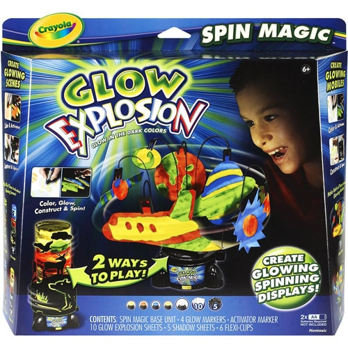 Glow Explosion Spin Magic