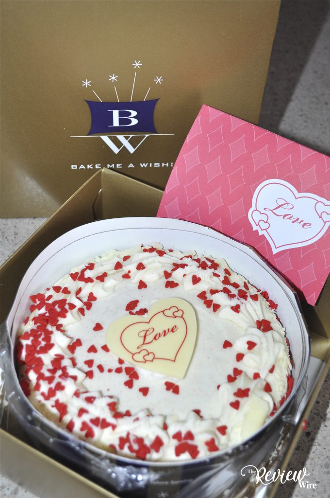 Bake Me A Wish Red Velvet Cake UnBoxing