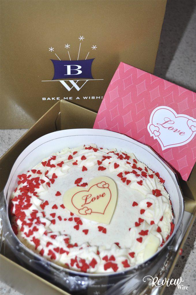 Bake Me A Wish Red Velvet Cake UnBoxing