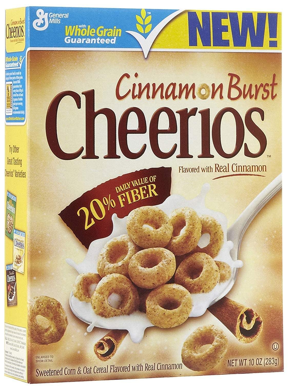 Cheerios Cinnamon Burst