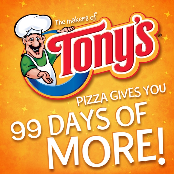 Tony's Pizza 99 Days of More