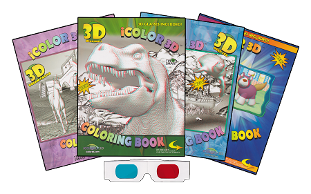 iColor 3D Coloring Books