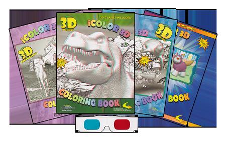iColor 3D Coloring Books