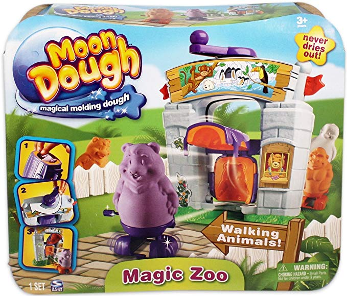 Moon Dough Magic Zoo