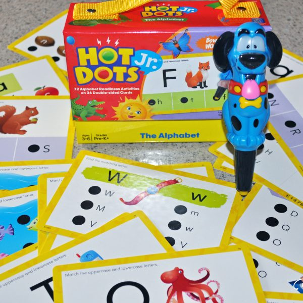 Hot Dots Jr. The Alphabet