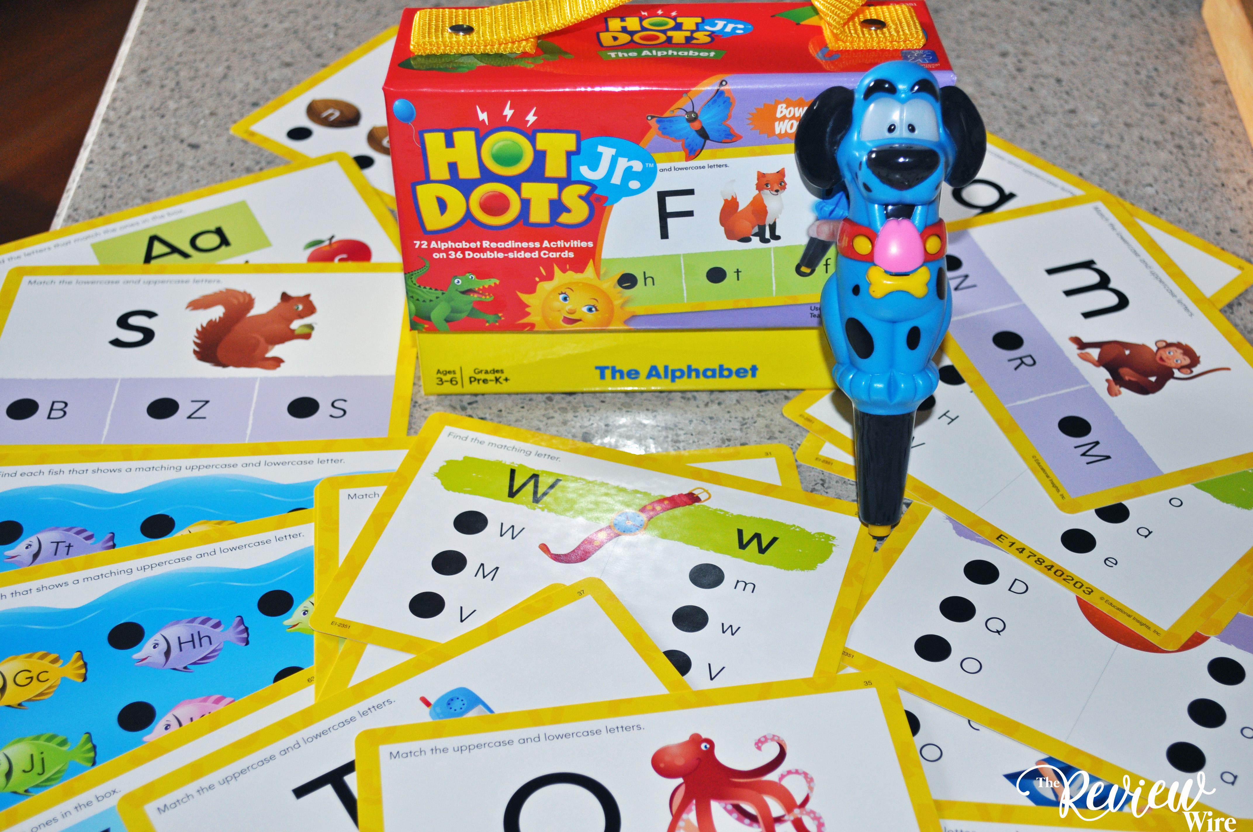 Hot Dots Jr. The Alphabet