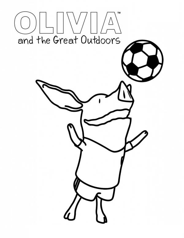 Olivia-the-Pig-and-the-Great-Outdoors-Coloring-Page