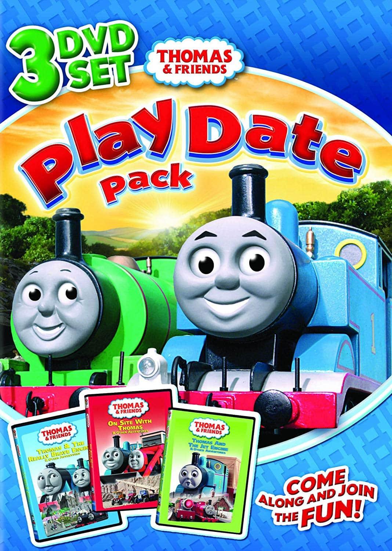 Thomas & Friends PlayDate 3 DVD Set