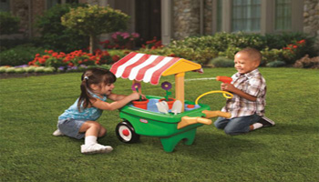 Little Tikes Review: 2-in-1 Garden Cart & Wheelbarrow
