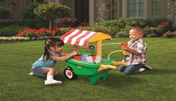 Little Tikes Review: 2-in-1 Garden Cart & Wheelbarrow