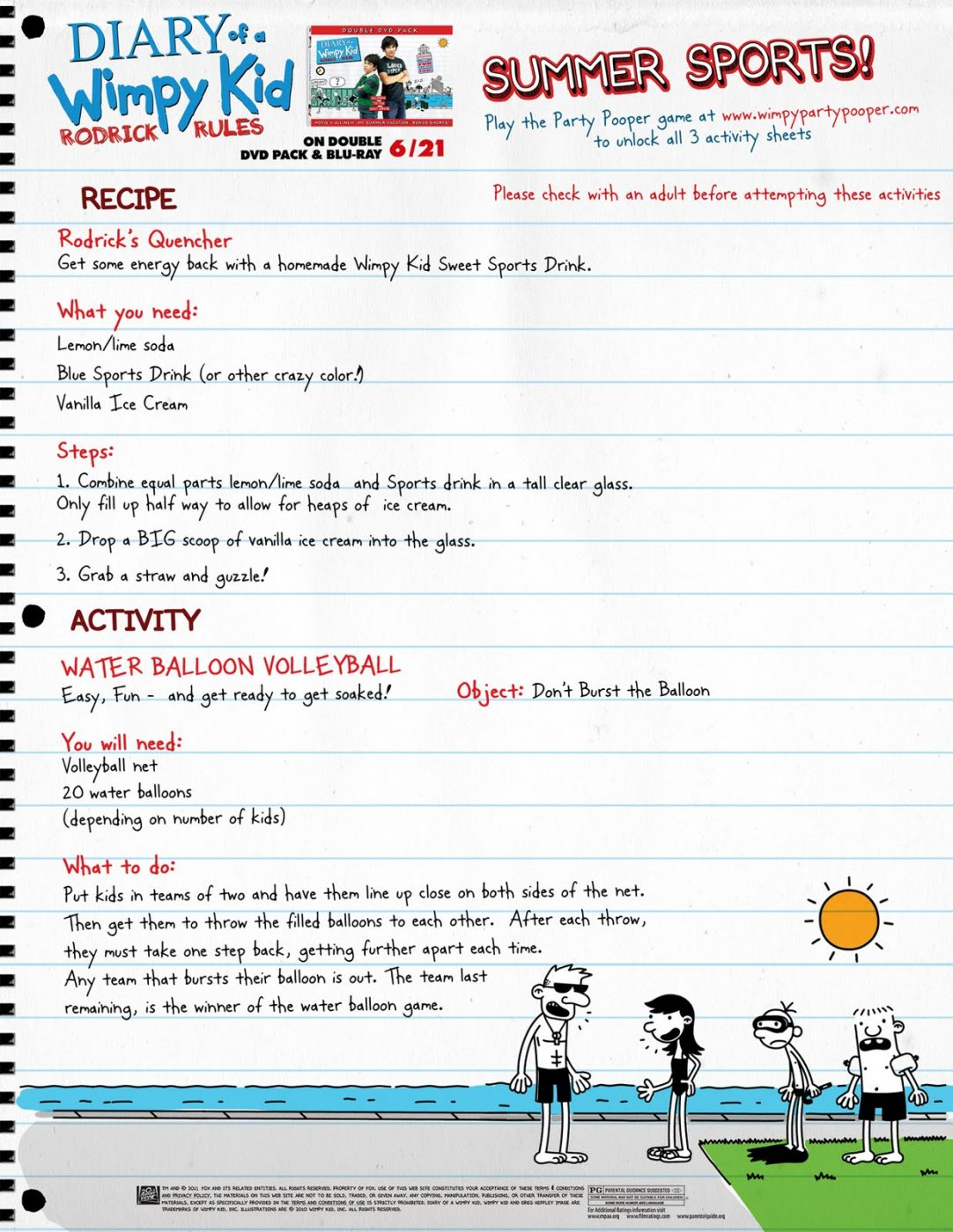 picture about Diary of a Wimpy Kid Printable identified as Diary of a Wimpy Little one: Rodrick Regulations + Printable Routines
