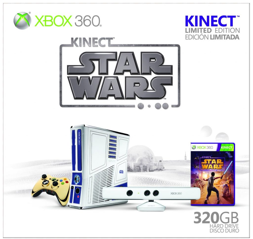 Limited Edition Star Wars Xbox 360 Console with Kinect