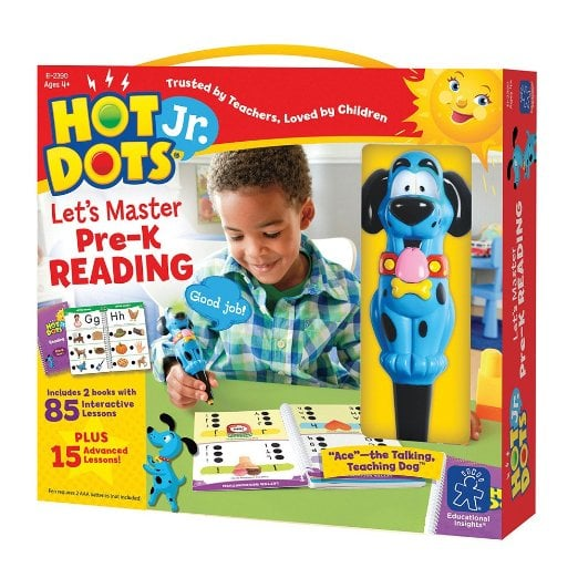 Hot Dots Getting Ready for School Kit