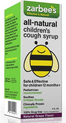 Zarbee's All Natural Cough Syrup
