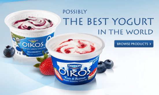 Dannon Oikos Greek Yogurt