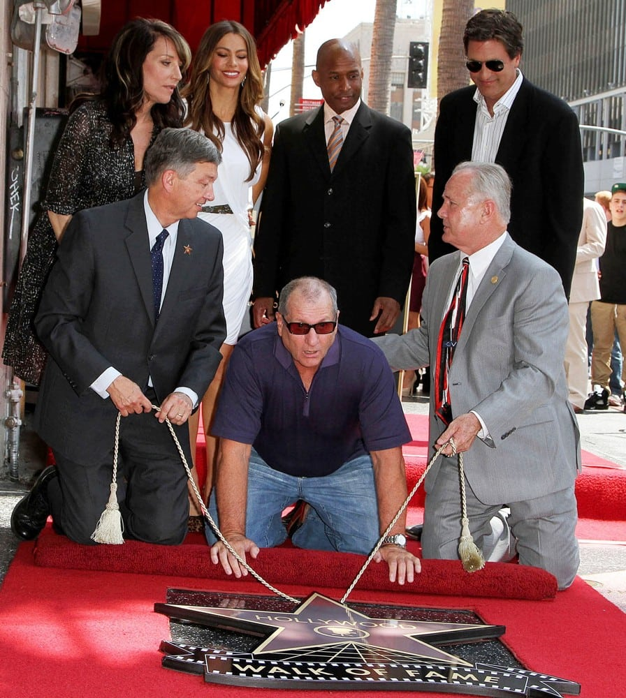 Ed O'Neill's Walk of Fame Pictures