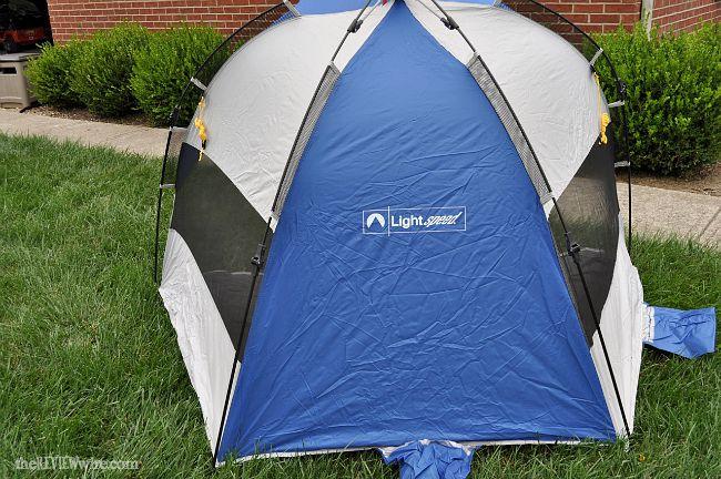 Lightspeed Tent Back