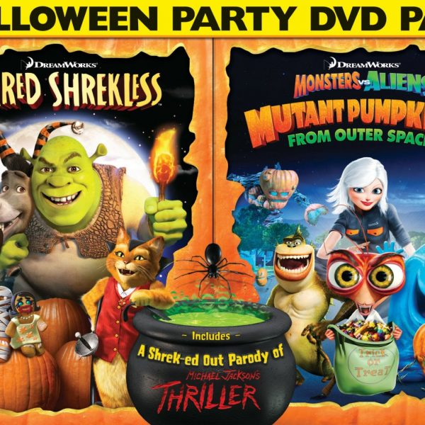 Scared Shrekless & Monsters Vs Pumpkins Halloween