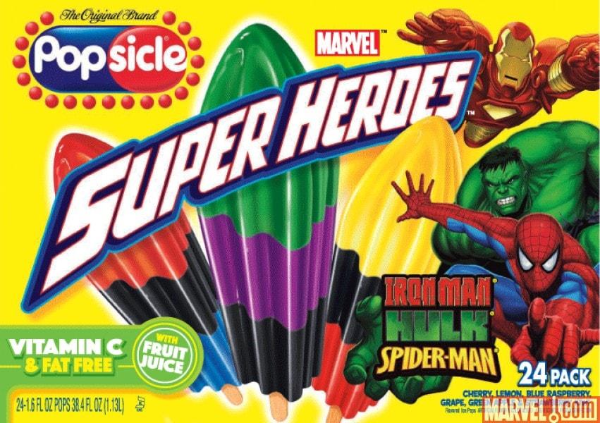 popsicle superheroes