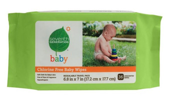 Seventh Generation Wipes & Diapers