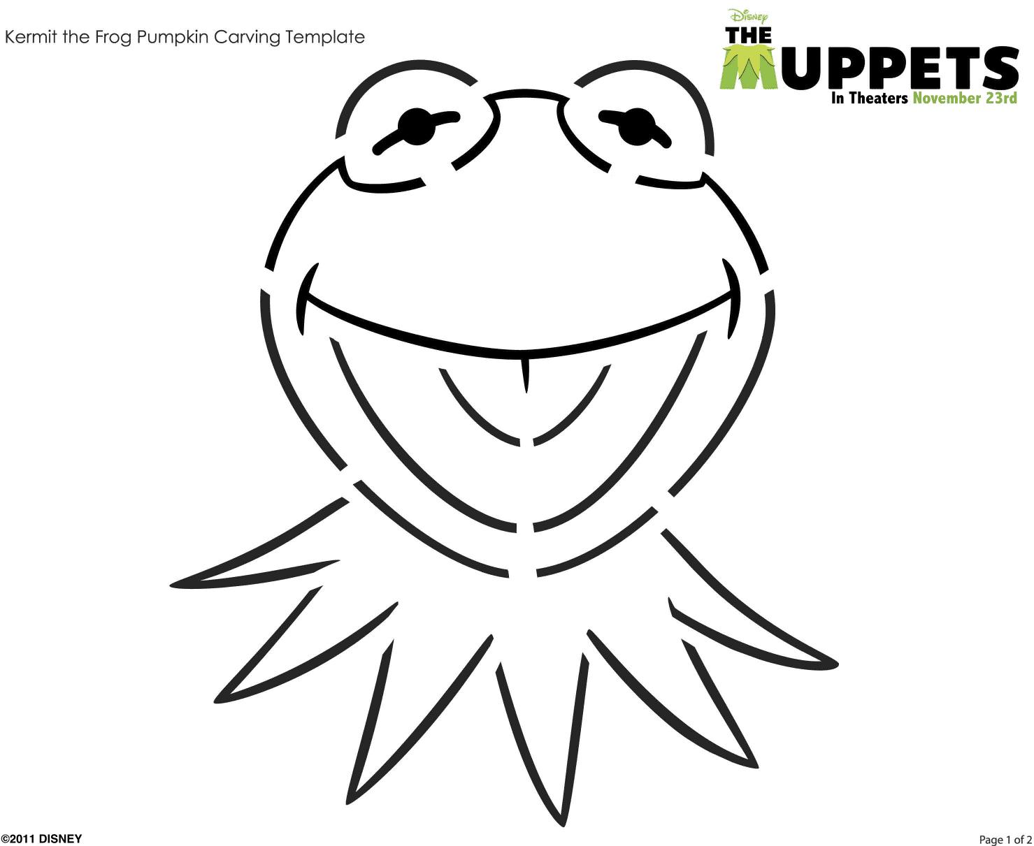 KermitPumpkinCarving1