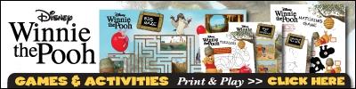 Winnie the Pooh Printable Games