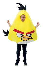 Angry Bids Kids Costume
