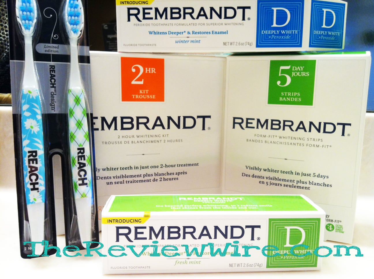 REMBRANDT Whitening Collection Review