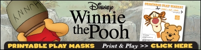 winnie the pooh printable play masks