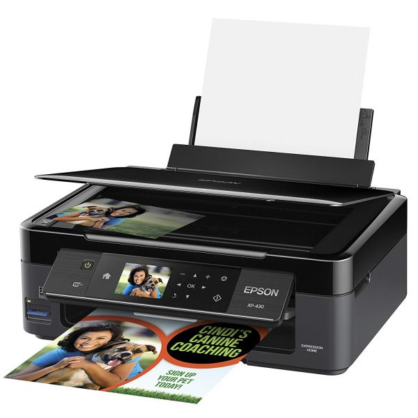 Epson Expression Home XP-430 Wireless Color Photo Printer