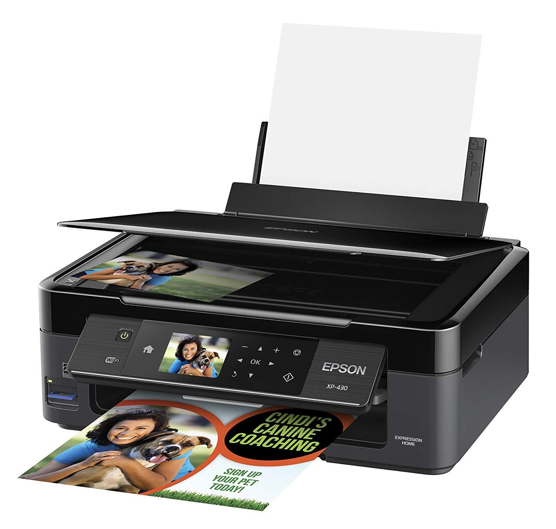 Epson Expression Home XP-430 Wireless Color Photo Printer