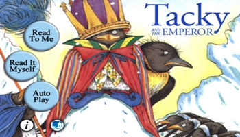 Tacky and the Emperor App