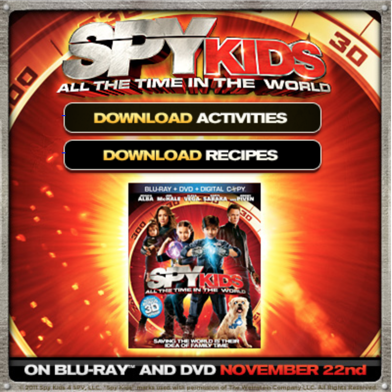 The Review Wire - SPY KIDS Activities