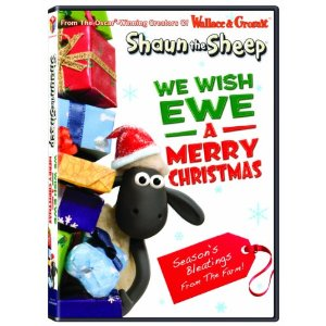 Review   SHAUN THE SHEEP: WE WISH EWE A MERRY CHRISTMAS DVD