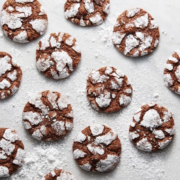 Chocolate Crackles Cookies