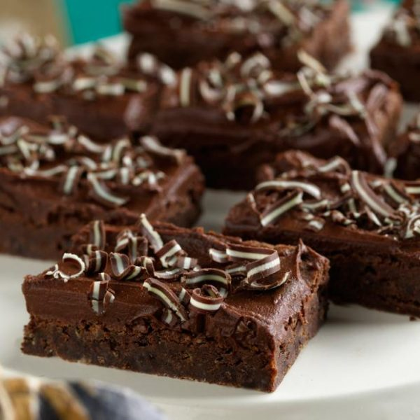 Creme De Menthe Brownies (From Paula Deen at FoodNetwork.com)