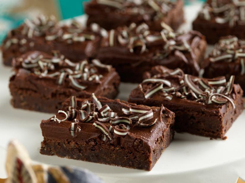 Creme De Menthe Brownies (From Paula Deen at FoodNetwork.com)